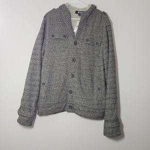 Kaun Nordstrom Chunky Soft Button Down Jacket